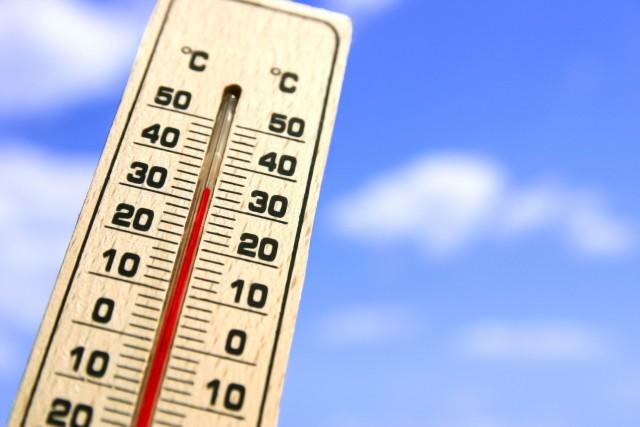 夏 温度計