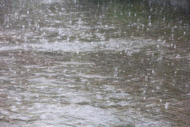 ゲリラ豪雨ー雨